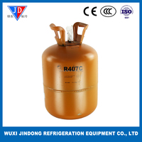 Purity 99.99% refrigerant gas R407C, refrigerant of air conditioner