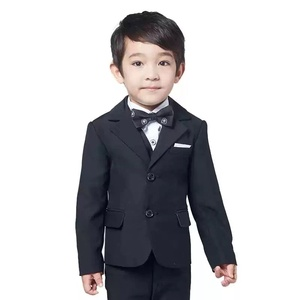 2019 latest design children's school uniform boy's 2 piece suit boys' formal suite