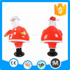 Outdoor portable inflatable santa claus Christmas gift toy for advertising