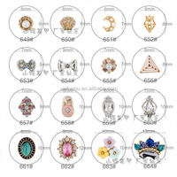 Factory sale originality nail art christmas decoration wholesale price