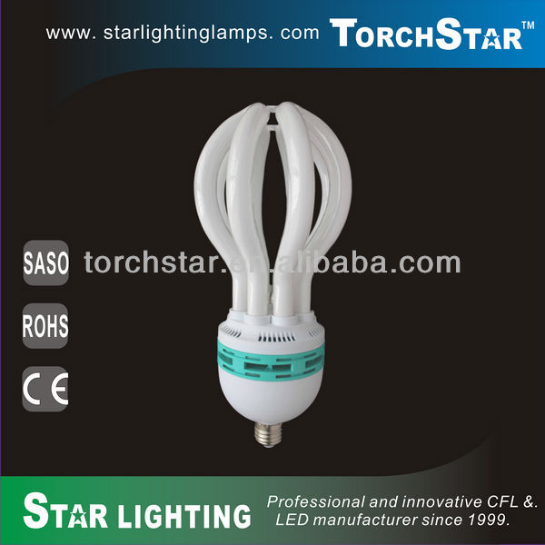 80W 4u energy saving lotus lamp tube