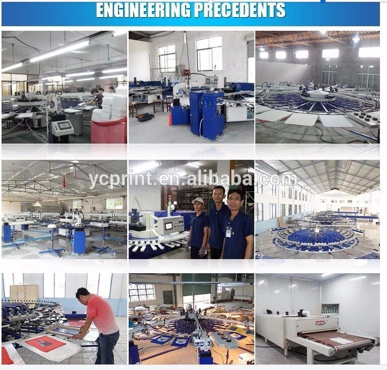 Youcheng CE approved semi automatic printing machines