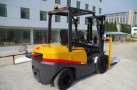 New forklift with Japanese Nissan engine, 3.5ton gasoline forklift parts