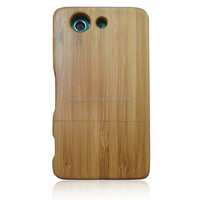 Bamboo case for Sony Z3 mini/two pieces wood cover/real bamboo for mobile phone accessories