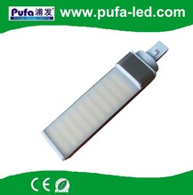 g24q 2 base g24d 3 led, electronic ballast compatible pl g24 led lamps for EU US market