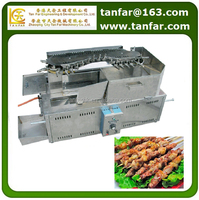 food processing machine Auto rolling yakitori BBQ machine