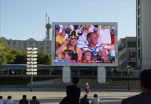 Outdoor High Refresh Rate LED Module Display P8 Outdoor LED Large Advertising Screen Board