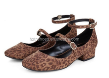 Ladies Sexy Leopard Pattern Flat Shoes Online Fashion Shoes African Shoes