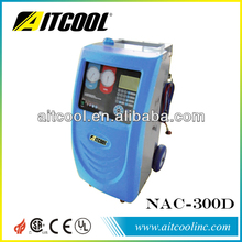 automatically A/C refrigerant recharging/recycling system NAC-300D AITCOOL