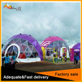 2017 new design Colorful 10m diameter half sphere tent / Party dome tent