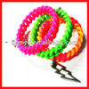 Custom most special two color silicone bracelet