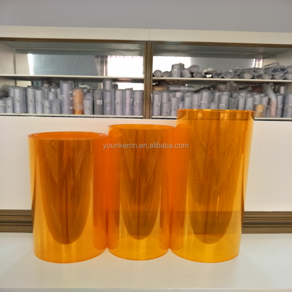 Pharmaceutical Clear Pvc Film Rolls And Sheet Of Hardness Pvc Film