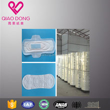 baby diaper and sanitary napkin raw material, wood pulp non woven spunlace