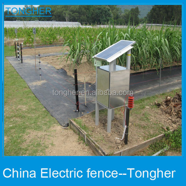 Solar Power Fence Charger Fi shock fence charger