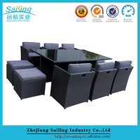 All Weather Garden Outdoor Furniture For Restaurant
