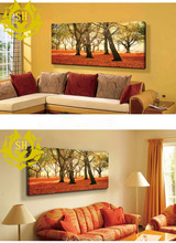 Multi Panel Landscape Canvas/Group Sunset High Quality Painting/landscape Stretched Canvas Printing