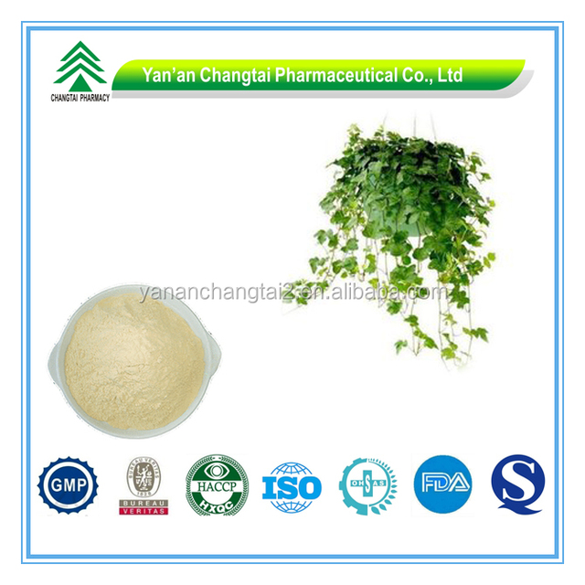 GMP Certificate Hot Sale Powder Form ivy leaf extract