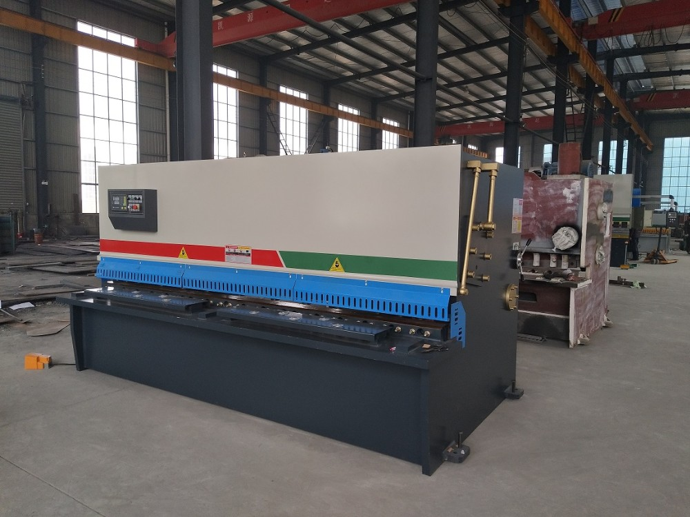 Promotion QC11K CNC steel plate shearing machine , 10mm sheet hydraulic shear ,metal cutting machine