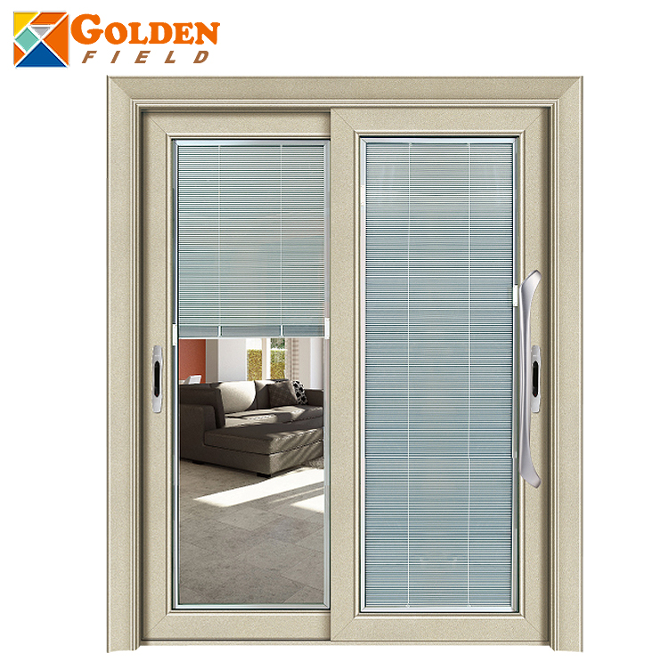 Balcony Security Slding Timber Glass Door With Shutter Designs Buy