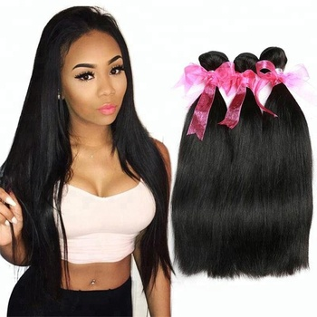 Wholesale Unprocessed 100% Virgin Brazilian Hair Real Mink Brazilian Silky Straight Hair