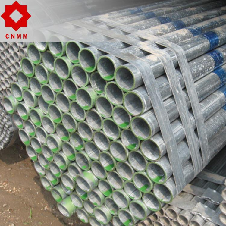 ms round erw carbon thin wall 6 inch pipe pre galvanized steel pipes