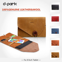 Flip real Leather case for ipad mini 4/mini 3 with card slots