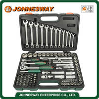JONNESWAY 111PCS 1/4 3/8 1/2 INCH DR. SUPER TECH SOCKET SET