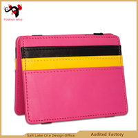 Made in China leather product magic wallet