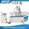 W1325-3H .4 axis cnc routcnc routerchina cnc route.4D cnc router woodworking cnc router cnc wood router3headsnew machinewood Ep