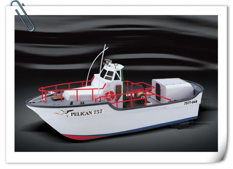 hot item rc metal 3ch tug boat model with light CE