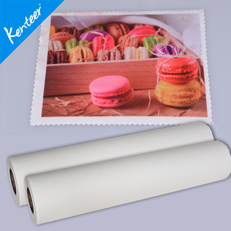 Kenteer custom fast dry sublimation heat transfer paper for textiles