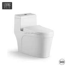 Bathroom home used one piece siphon flushing fashional type toilet room design