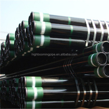 China supplier API 5CT black oil drill rig pipe L80 N80 N80Q 13cr casing steel pipe
