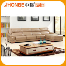 Living Room Furniture Luxury Brown Full In Raw Leather Sofa