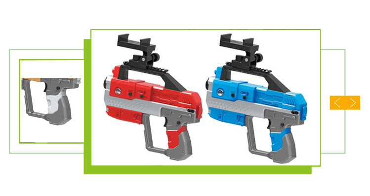 New product electric smart ar laser game gun