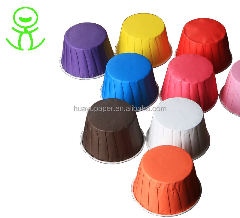 Eco-friendly wholesale paper muffin cups of custom printed baking cake cup