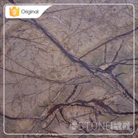 Wholesale Goods From China Rainforest Brown Types of Marbles Stone