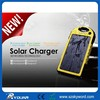 Fashionable personalized solar light charger with dual usb portable usb charger 5000 mah