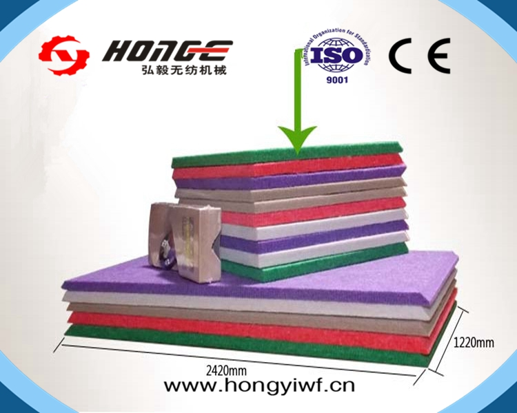 ChangShu HongYi Diffuser Factory Directly Fireproof BarBreathable Sound Proofing Sponge acoustic panel