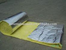 Glass Wool Blanket with foil / fiberglass duct wrap