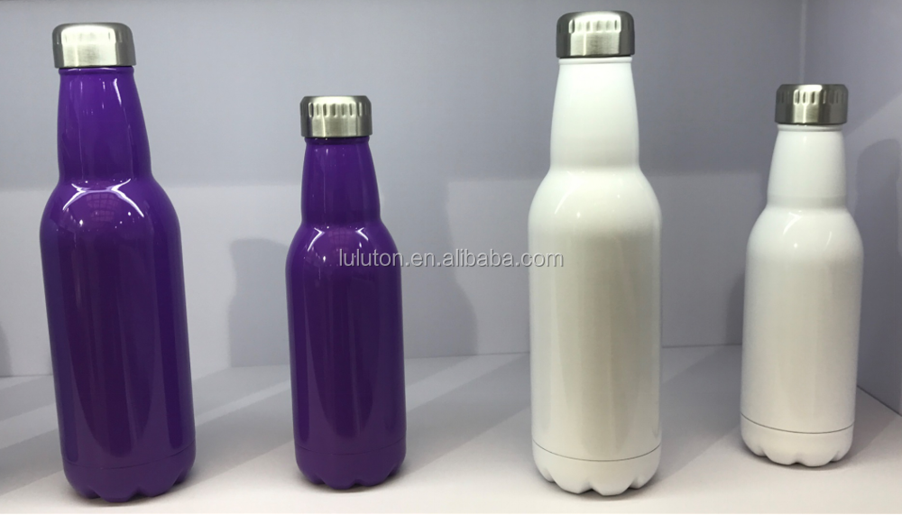 FDA BPA FREE double wall sports insulated stainless steel vacuum bottle
