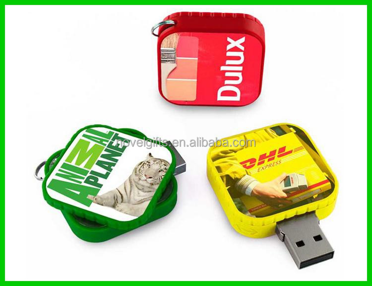 <strong>Promotion</strong> Popular Rotate USB Flash Drive Memory Disk