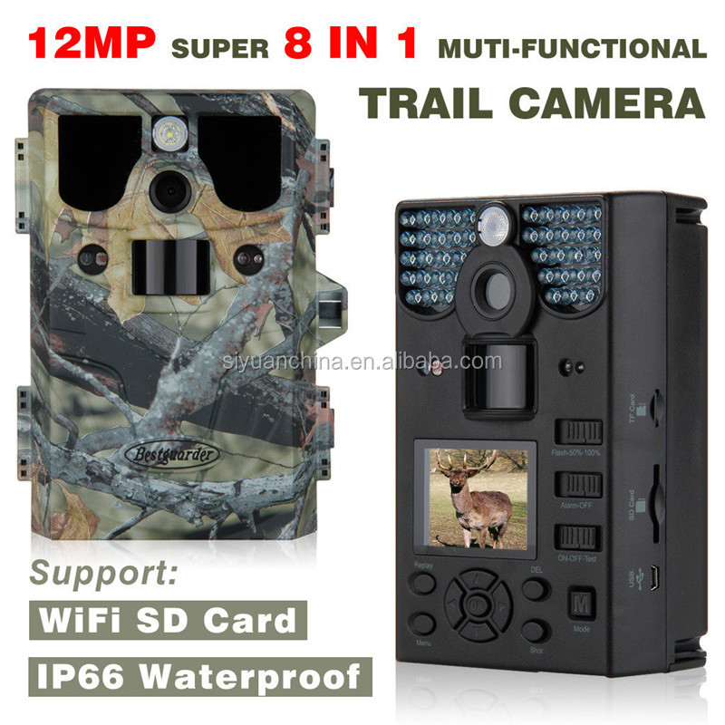 12mp HD 1080P NO Glow long detection range Scouting camera up to 85ft