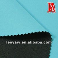 bonded fabric made of jersey and micro fleece fabric