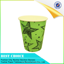 Manufacturer directly supply disposable single wall coffee paper cup in China