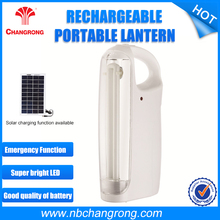 LED high-brightness portable lantern rechargeable AC powered solar LED camping light