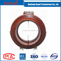 single phase variable low voltage transformer and dc immune current transformer