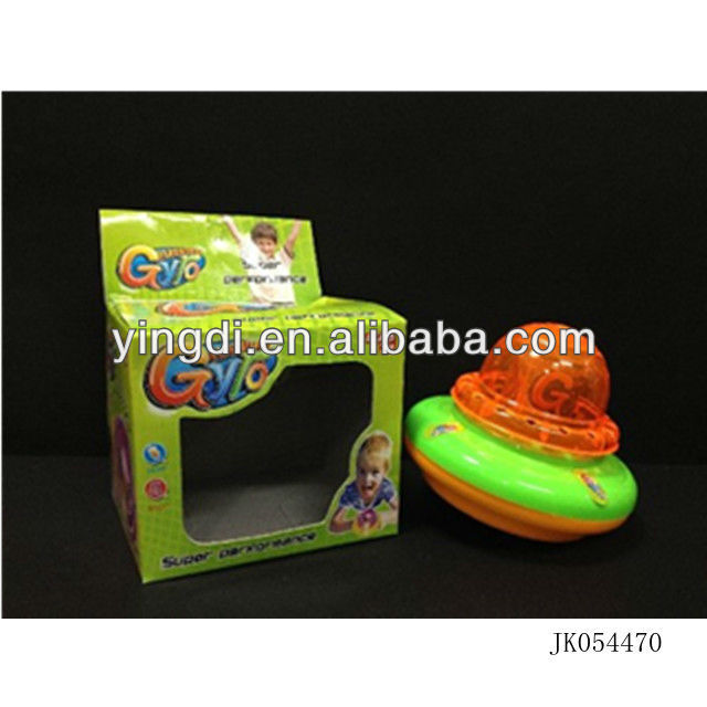 2013 hot sale beyblade top toys flashing gyro flying saucer top ufo top for kids