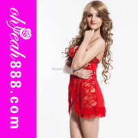 Cheap price high quality wholesale sexy girls sexy nightwear