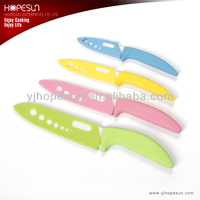 4pcs different size ceramic knife set